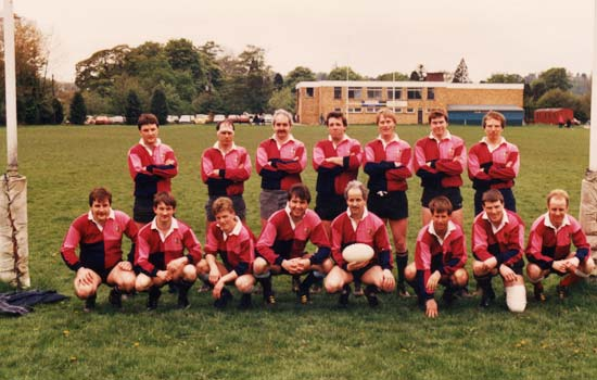 Old Boys XV April 1989
