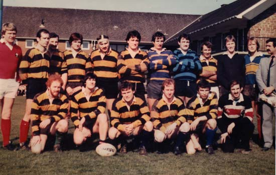Old Boys XV early 80
