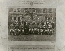 This team, captained by Dr Jack Matthews OBE, famously beat Cardiff RFC 23-22 at Cardiff Arms Park